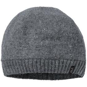 Jack Wolfskin Stormlock Wełniana czapka, dark grey